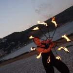 Abanicos Fuego