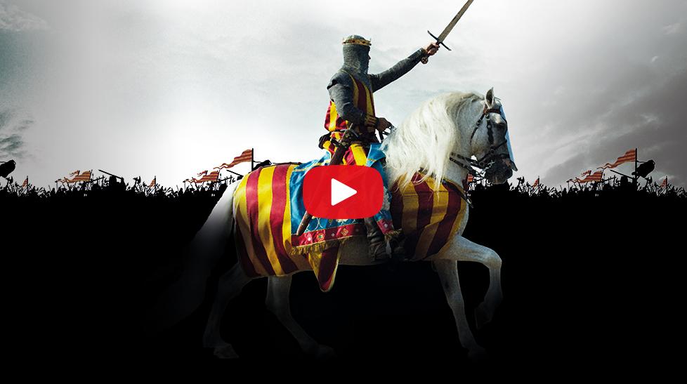 El Torneo del Rey, Jaume I: Más allá de la leyenda